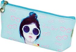 Picture of  PENCIL CASE Love girl 20x8,5x4,5 cm