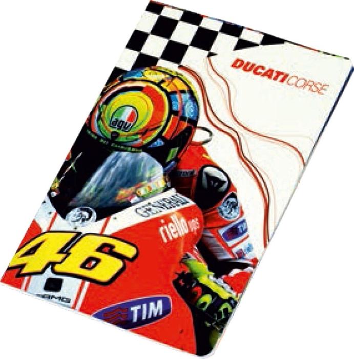 Slika od DUCATI bilježnica A4 crte 1/10 – 100 g papir