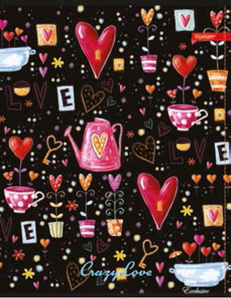 Picture of EXCLUSIVE A4 notebook line paper, 52 sheets, UV or glitter details