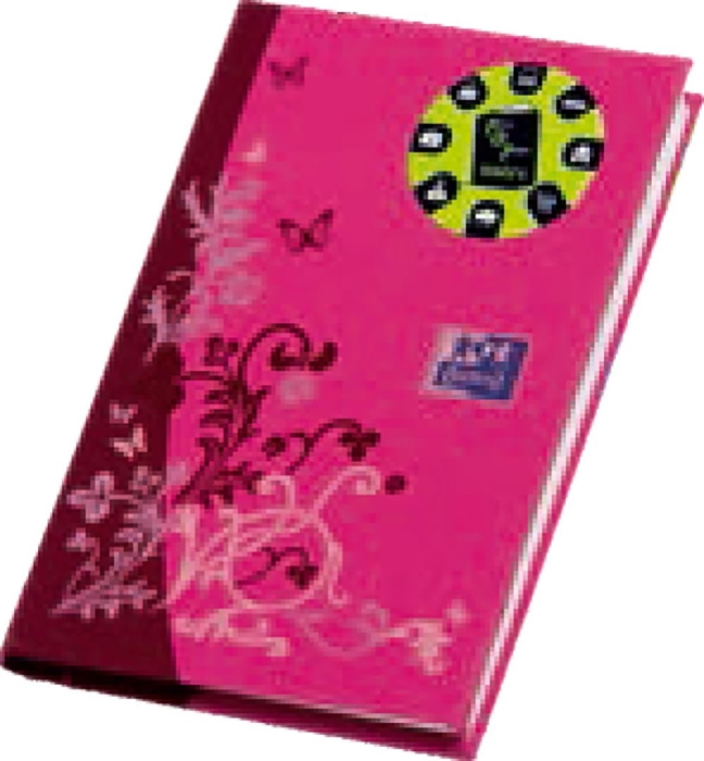 Picture of OXFORD OFFICE BOOK phone pad 11,2x7,2 cm, hardcover