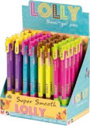 Picture of PEN Lolly semi gel – nib 0,5 mm – exhibition stand 1/40