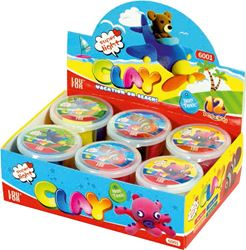 Picture of PLAY-DOH super light – the cups with 4 colours 30 g – box of 12 PCs