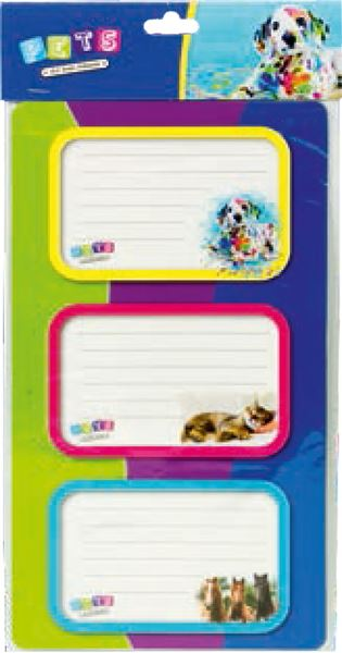 Picture of MY LITTLE FRIENDS stickers blister 12 PCs