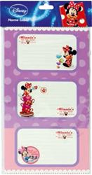 Picture of MINNIE stickers blister 12 PCs