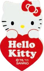 Picture of HELLO KITTY clip