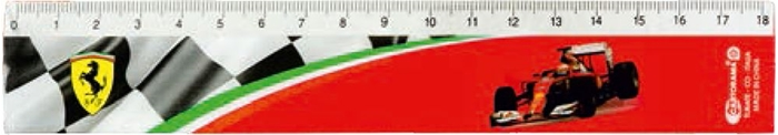 Picture of FERRARI ruler 18 cm