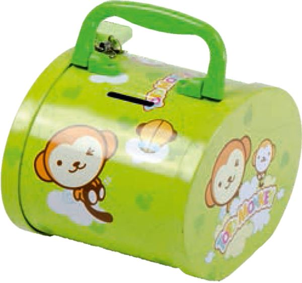 Picture of METAL MONEY BOX baby animals