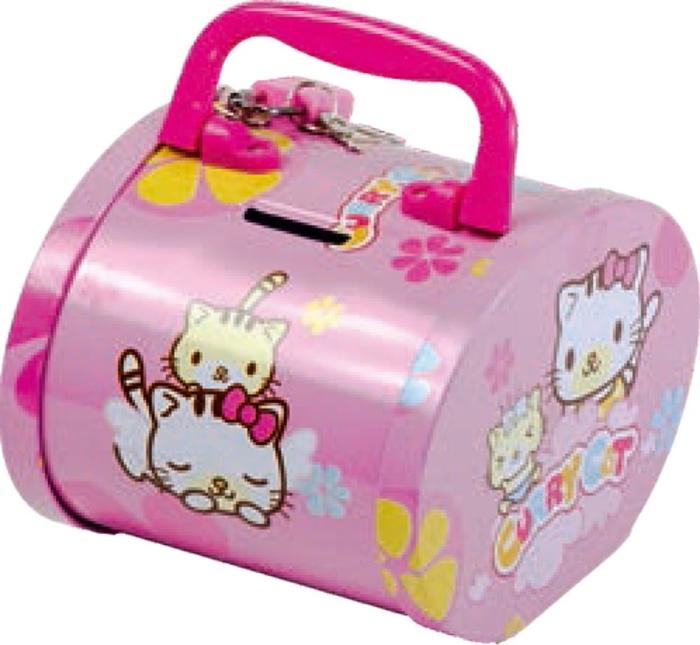 Picture of METAL MONEY BOX baby animals