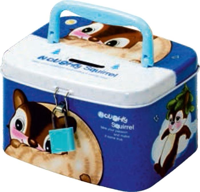 Picture of METAL MONEY BOX teddy bear/bunny/squirrel