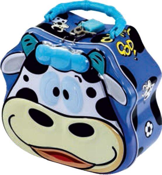 Picture of METAL MONEY BOX happy cow
