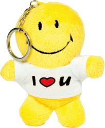 Picture of SMILE plush keychain