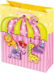 Picture of DECORATIVE BAG circus large 42x30x12,1 cm