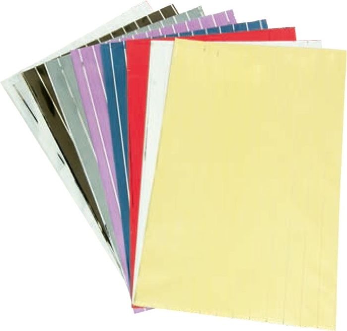Picture of CELLOPHANE bags 10 colors 1/70, 40x25,5 cm