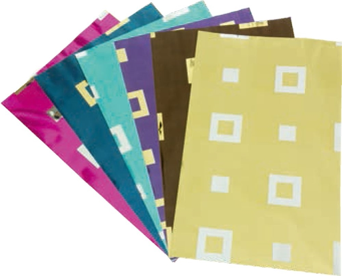 Picture of CELLOPHANE bags 7 colors 1/50, 49,2x35 cm