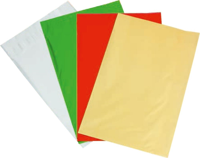 Picture of CELLOPHANE bags 4 colors 1/40, 35x20 cm