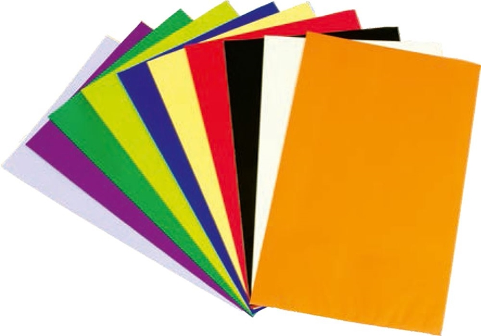 Picture of CELLOPHANE bags 10 colors 1/40, 49x12 cm
