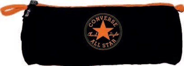 Slika od Converse okrugla pernica crno-narančasta