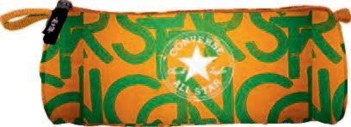 Slika od Converse okrugla pernica narančasto-zelena