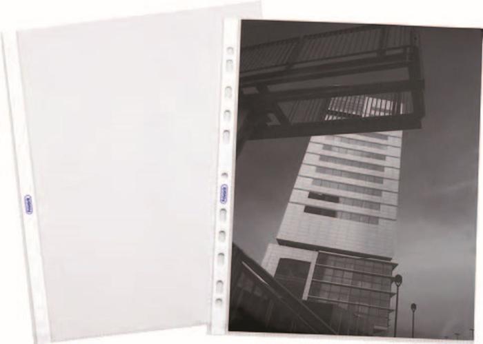 Picture of Punched pocket UR - standard transparentna sjajna 1/100