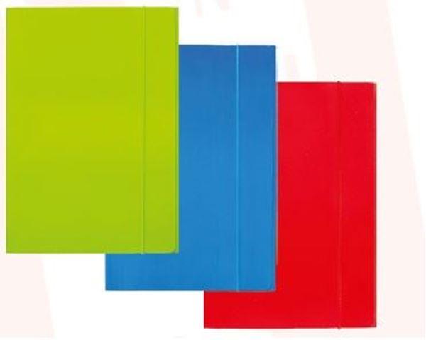 Picture of FASCIKL A4 s gumicom – plastificirani karton