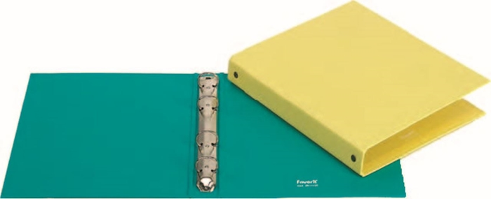 Picture of FOLDER 4 ring A5-12 different pastel colors
