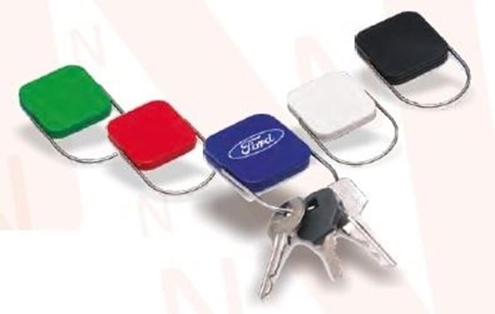 Slika od PRIVJESAK za ključeve Lock – zeleni