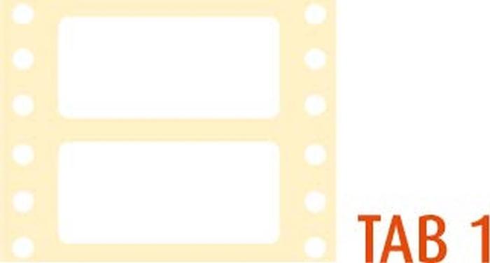 Slika od SAMOLJEPLJIVE etikete za iglične pisače 72x48,9 mm