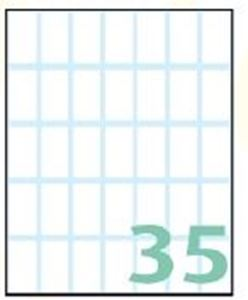 Picture of SELF-ADHESIVE labels Export 28x15 mm – 10 sheets, 35 to the list