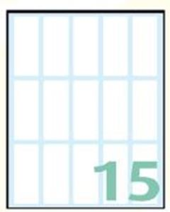 Picture of SELF-ADHESIVE labels Export 48x20 mm – 10 sheets, 15 per sheet