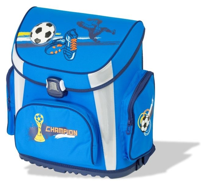 Picture of TIGER PRIME school bag football 36x23x39 cm