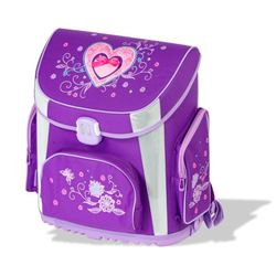 Picture of TIGER PRIME school bag heart 36x23x39 cm