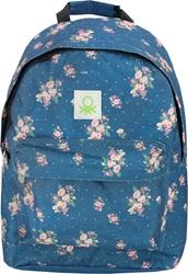 Slika od BENETTON FLOWER ruksak teen 30x13x42 cm