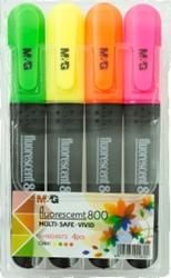Slika od M&G FLUO MARKER Fluorescent 880 – pakiranje 4 kom