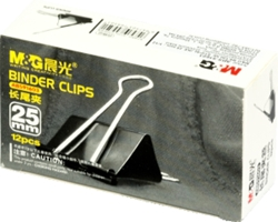 Picture of Metal black Binder Clips