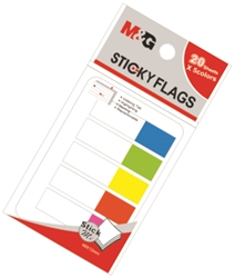 Picture of SELF-ADHESIVE page marker pvc 48x12 mm