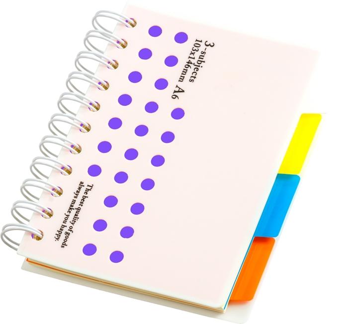 Slika od SPIRALNA bilježnica – A6 crte
