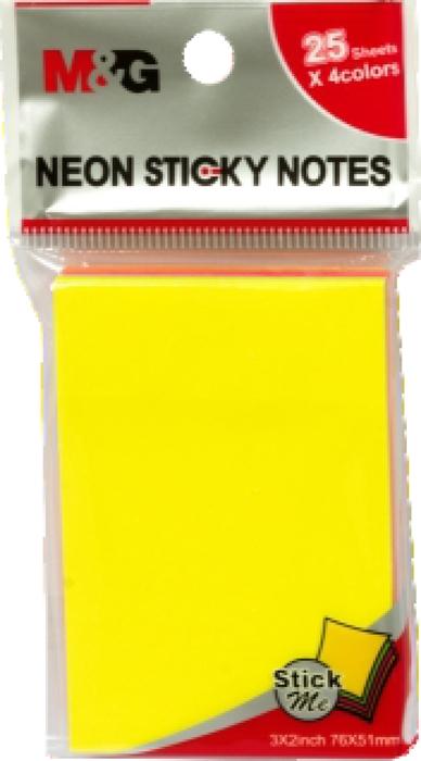 Picture of Samoljepljivi blokić NEON - 7,6x5,1cm