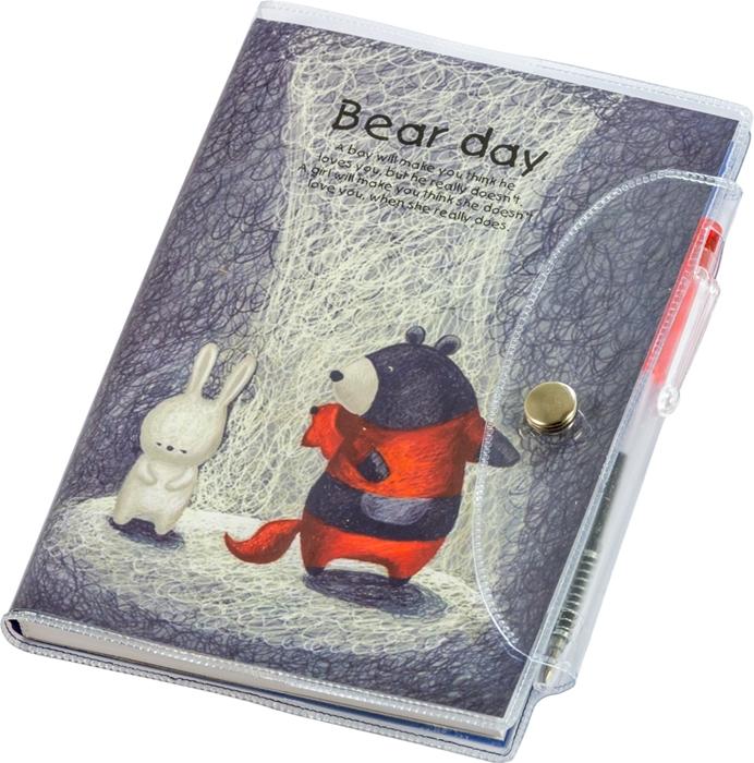 Slika od Bear day blok s olovkom