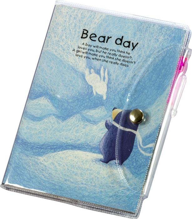Slika od Bear day blok s olovkom A6