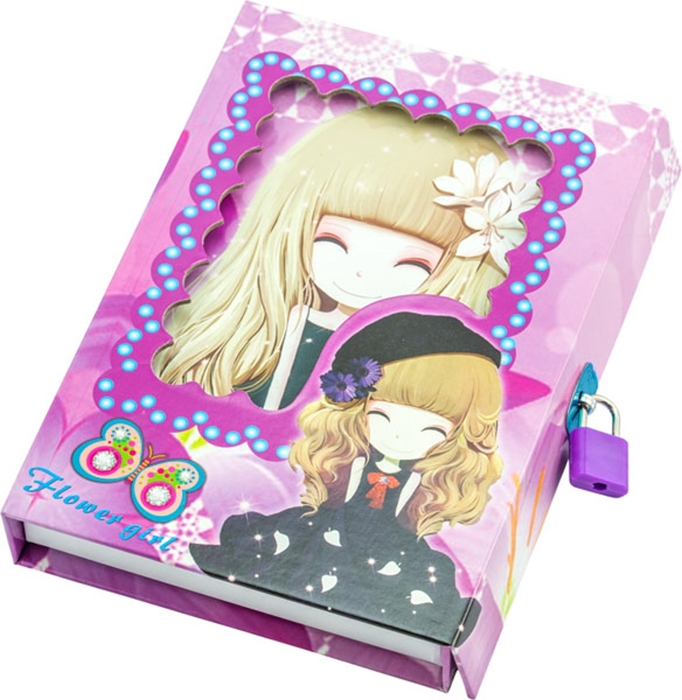 Slika od Flower girl dnevnik u poklon kutiji