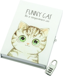Picture of Funny cat dnevnik u poklon kutiji
