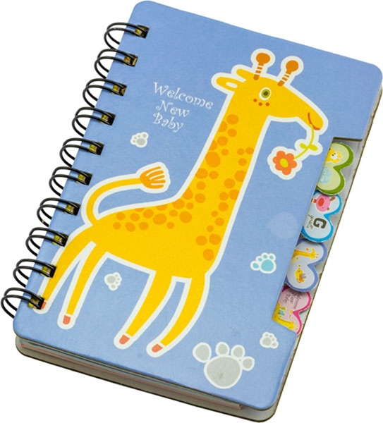 Picture of Giraffe spiralni blok
