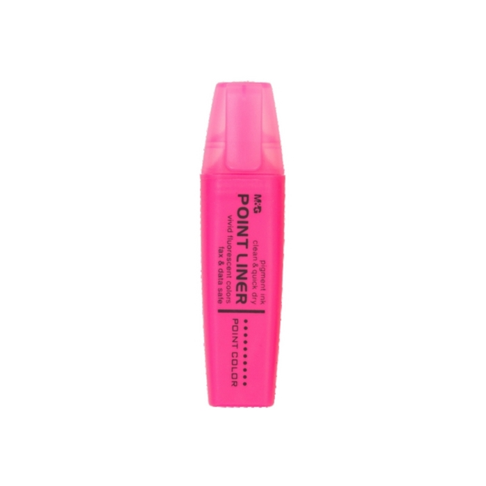 Picture of M&G FLUORESCENT MARKER Point liner with fragrant trail-rosy 1-12