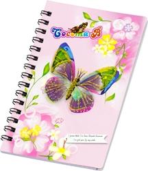 Slika od Spiralni blokić Leptiri