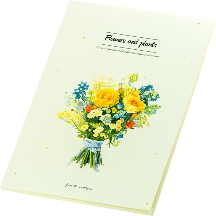 Slika od FLOWERS bilježnica B5