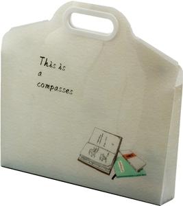 Slika od Compasses PVC torba
