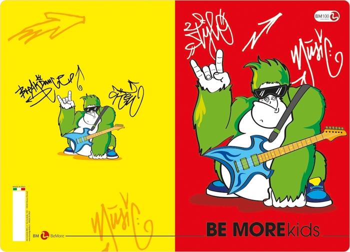 Slika od KIDS bilježnica A4 kocke
