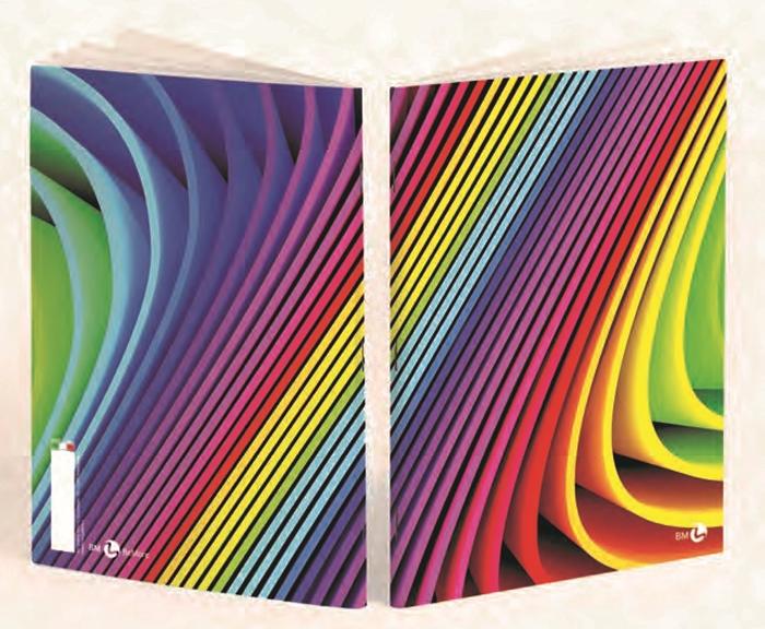 Slika od Bilježnica BEmore arcobaleno - crte_102135_102135_102135_102135_102135_102135_10