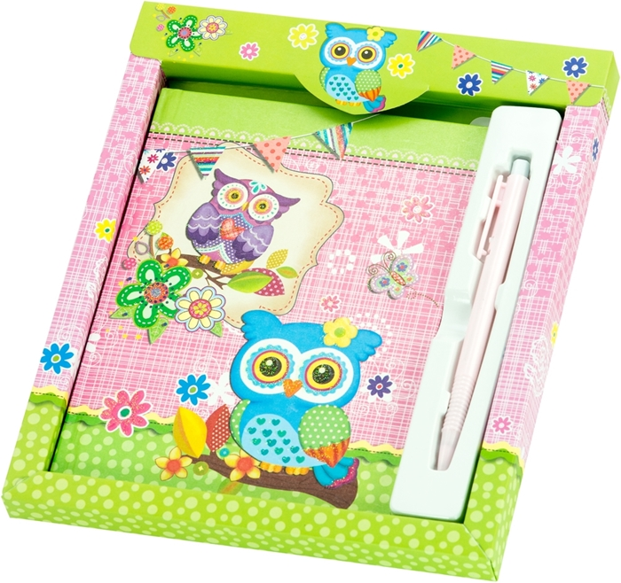 Slika od Dnevnik s olovkom Owl