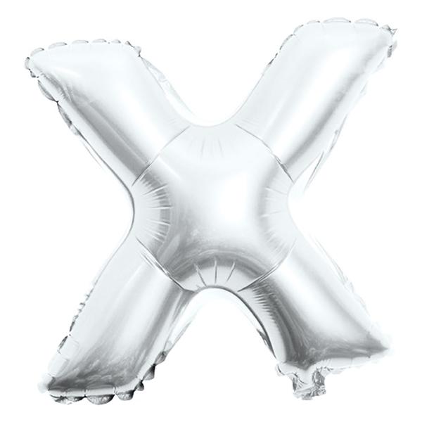 Picture of Folijski balon slovo X